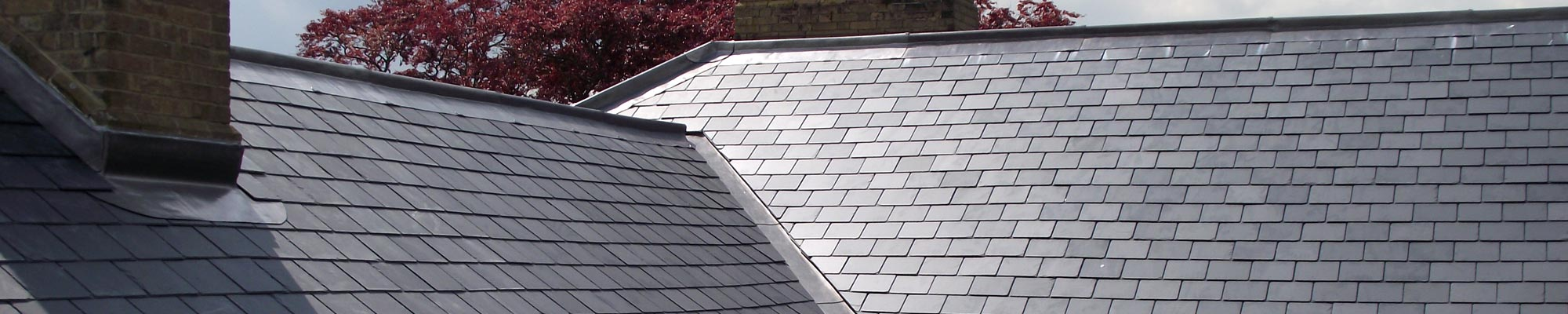 Pitched roofing services with slate tiles from Proctor Roofing