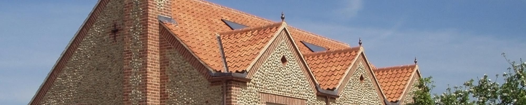Domestic tile and slate roofing services in Norfolk from proctor Roofing