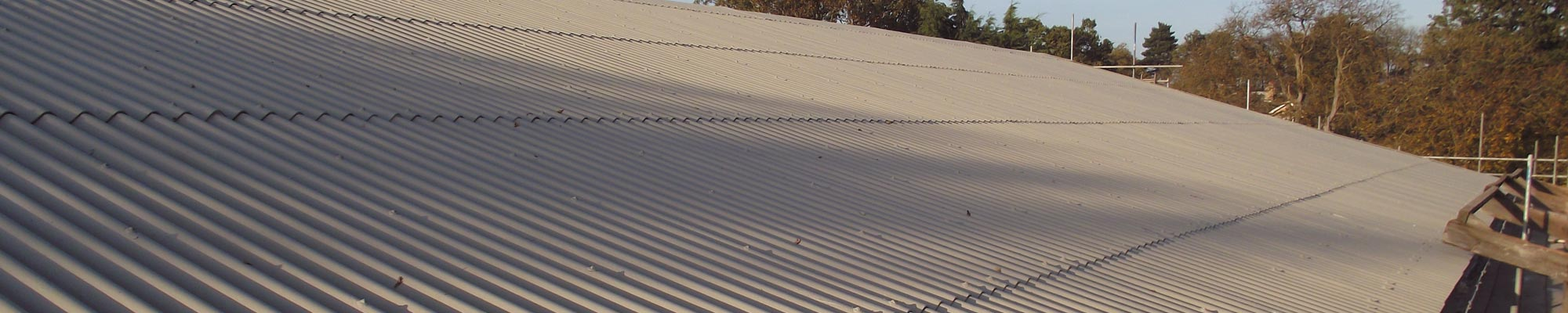 Commercial flat roofing systems from Proctor Roofing