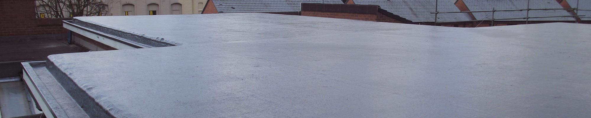 Domestic and commercial flat roofing services from Proctor Roofing