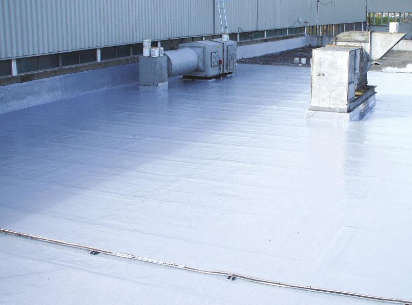 Canteen Refurbishment Liquid Roofing