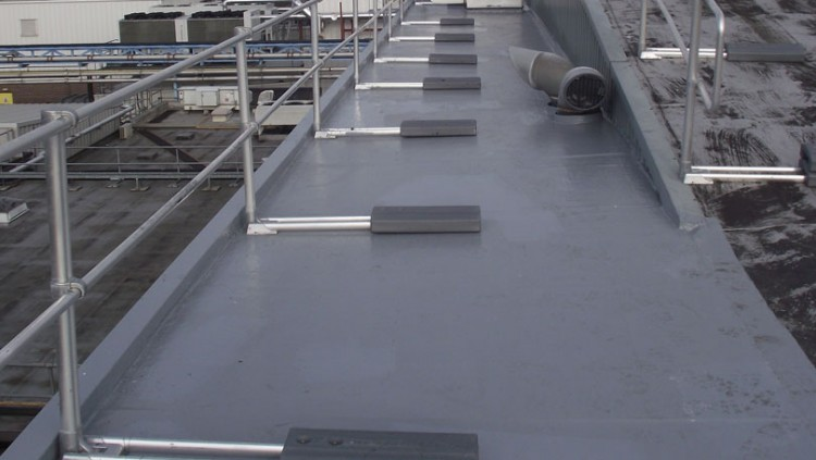 Plant Room Roof Refurbishment – Leicestershire