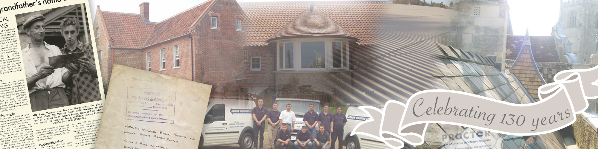 Celebrating 130 Years In Roofing Proctor Roofing
